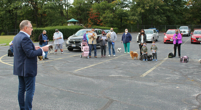 Annual Blessing of Animals welcomes the parish's four-legged friends